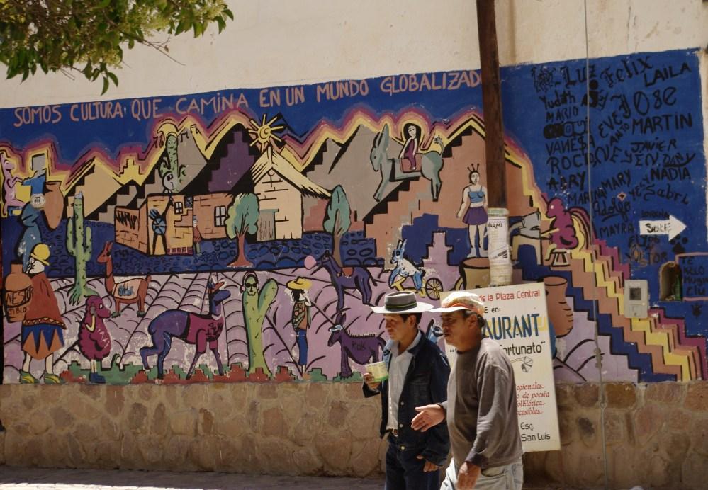 Humahuaca at noon