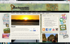 South America Backpacker Itacare