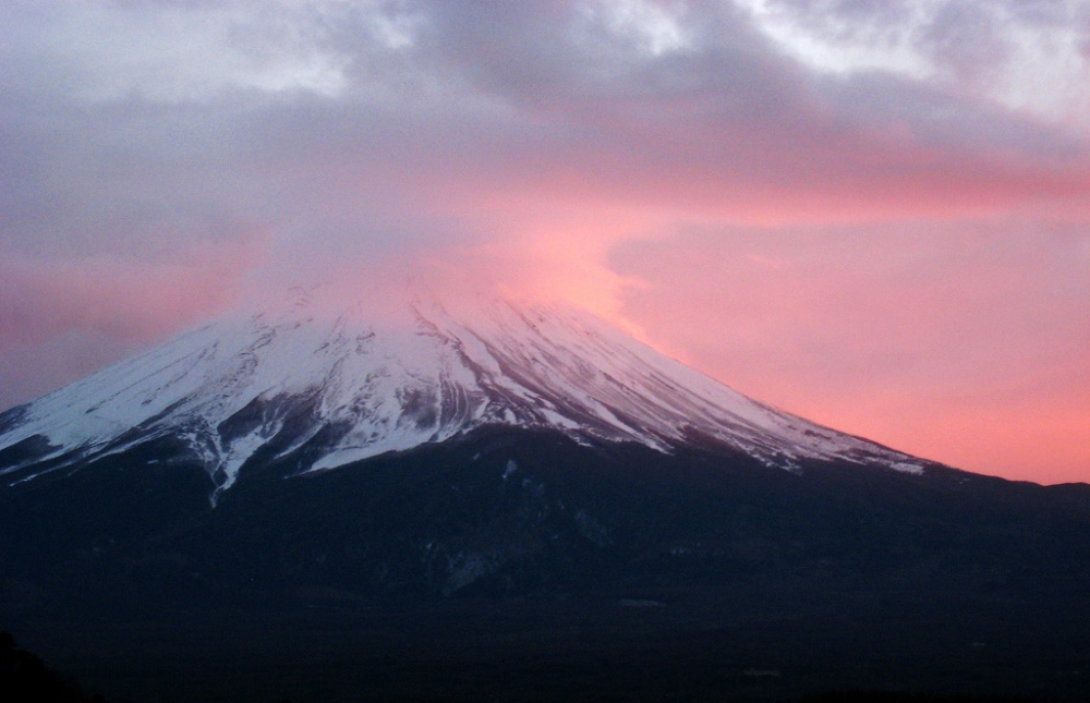 Mount Fuji- Creative Commons photo credit