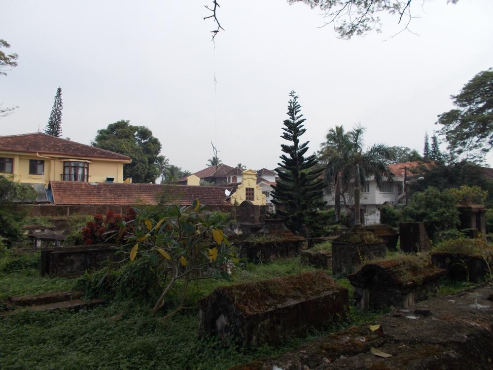Dutch cemetery, Cochin