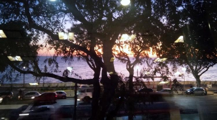 sunrise in Buenos Aires