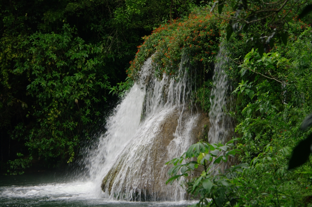 Waterfall at Estancia Mimosa
