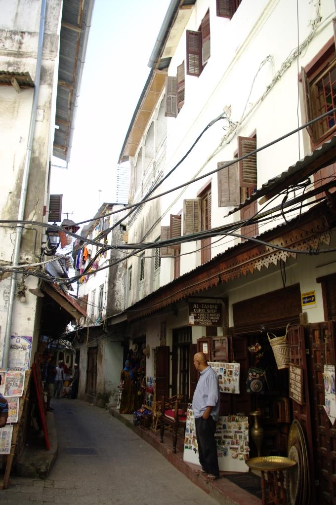 Srone Town alleys