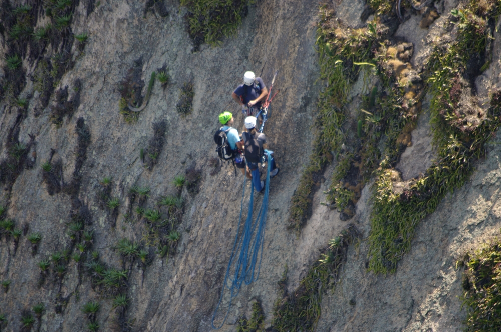 Climbers on Sugarloaf Mountain